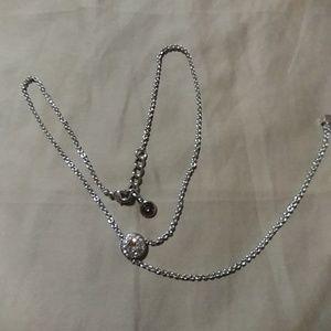 Swarovski lariat necklace