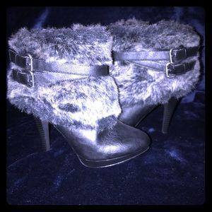 NEW!! Fur booties