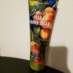 Golden pear and brown sugar body cream