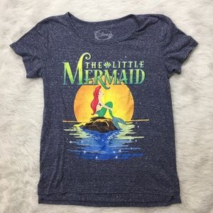Hot Topic Distressed The Little Mermaid Shirt