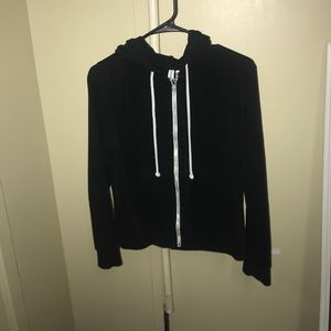 Zip up sweatshirt