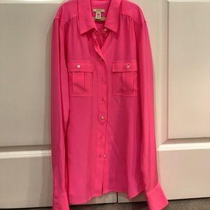 J. Crew silk blouse (Blythe style)