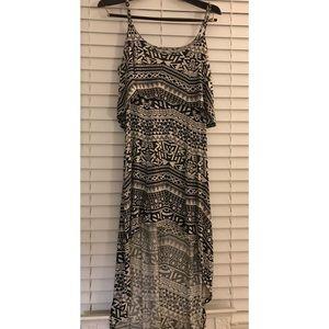➰ Tribal high-low dress 〰