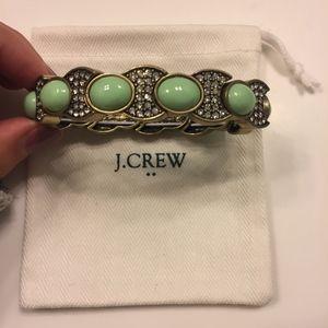 J. Crew Stretch Bracelet - Mint