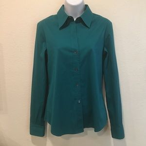 THEORY Larissa LS Button Down Dress Shirt