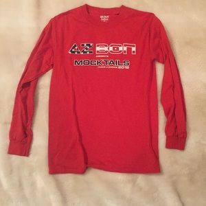 Delta Zeta and Beta Theta Pi long sleeve tshirt