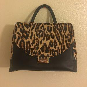 Kate Spade Taiden Miro Street calf hair satchel