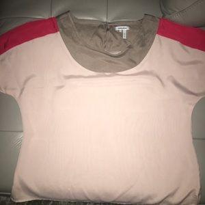 Nordstrom Savvy blouse - designer Manoukian