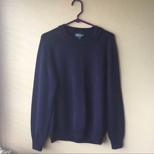 Vintage Navy Baggy Sweater