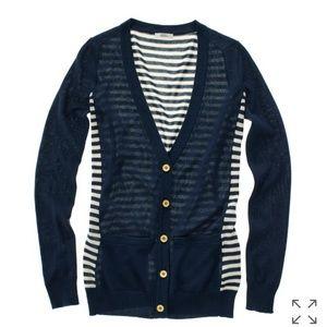 Madewell Rigby Striped Cardigan