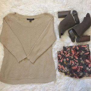 Fever Tan Sweater