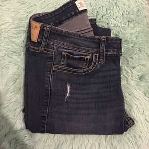 Distressed Hollister Jeans