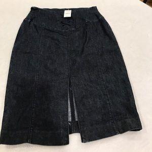 Express Pencil denim skirt
