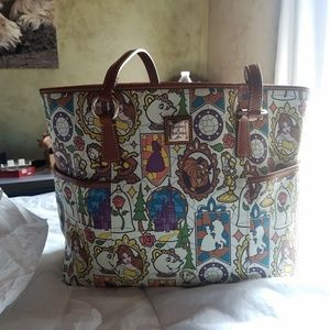 Dooney & Bourke Disney Beauty & the beast tote