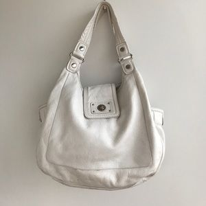 Marc by Marc Jacobs Totally Turnlock Tobo Bianco
