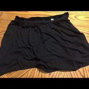 Ladies size xl black knit skirt