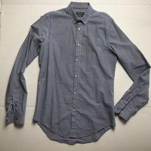 ZARA button down slim fit shirt