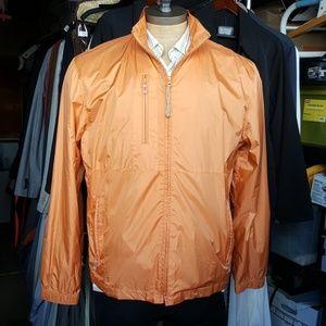 Windbreaker jacket.