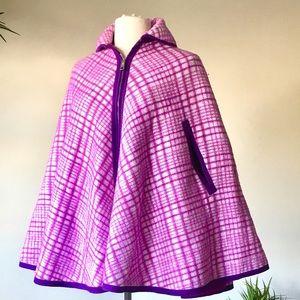 Jackets & Blazers - Vintage Reversible Cape Jacket