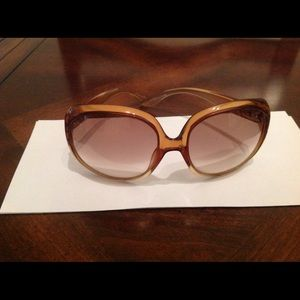 Vintage Dior Sunglasses - amazing shape!!