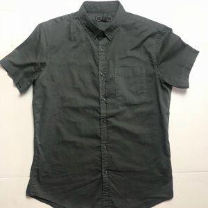Forever 21 men short sleeve button down