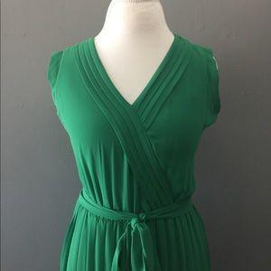 Jessica Simpson Maxi Pleated Dress