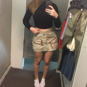 Urban outfitters Camo Skirt