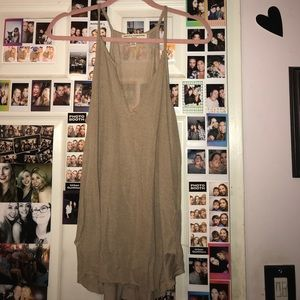 Taupe urban outfitters tank
