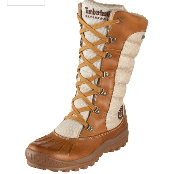 Timberland tall lace duck boots waterproof ❄️</p>                     </div>   <!--bof Product URL --> <!--eof Product URL --> <!--bof Quantity Discounts table --> <!--eof Quantity Discounts table --> </div>                        </dd> <dt class=