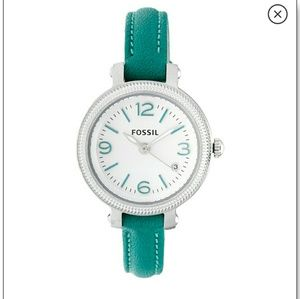 Fossil watch: Heather teal