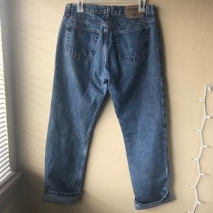 Vintage Medium Wash Boyfriend/Mom Jeans