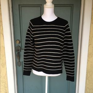 Madewell Sweater with Zipper up the back sz Small