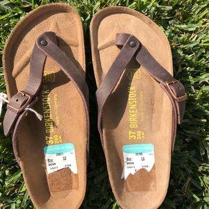 ❤️Birkenstock Adria Thong Sandal Habana Leather 37