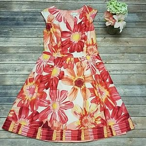 Kim Rogers Floral Dress Size 12