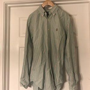 RALPH LAUREN- button down shirt