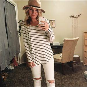 NORDSTROM long sleeve striped shirt