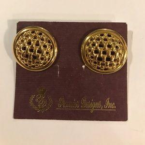 Interlock premier designs earrings