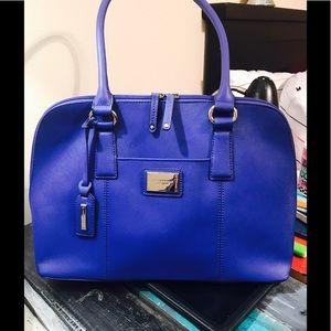 Cobalt blue TIGNANELLO satchel shoulder bag