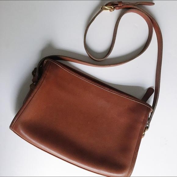 7a82e2c2290 Coach Bags   Vintage Leather Cross Body Bag   Poshmark