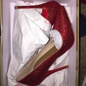 Red Christian Louboutin Heels