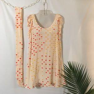 Charlie Jade Shredded Shoulder Dress