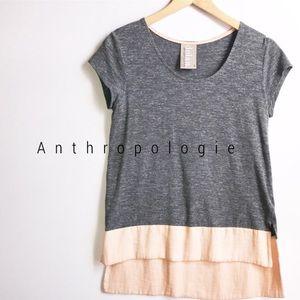 Anthropologie colorblock Dolan Pipa blouse