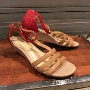 """Calvin Klein """"Ellie"""" wedge sandals"""
