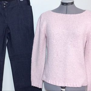 NY&Co Pale Pink Cozy Sweater, a little furry