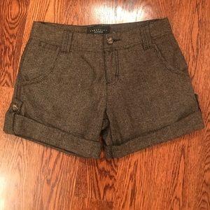 Sanctuary Herringbone Tweed Shorts