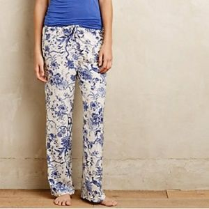Eloise English Garden floral print pajama pants