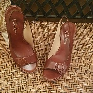 New Cole Haan Brenna wedges