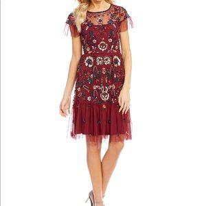 Gianni bini floral sequin dress