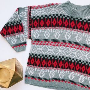 Vintage Holiday Christmas Sweater
