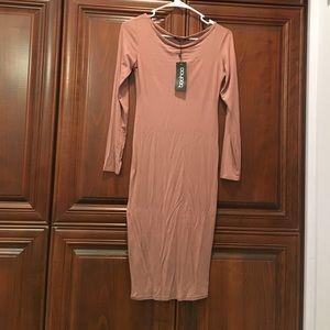 Bodycon pink dress. NEVER WORN BRAND NEW